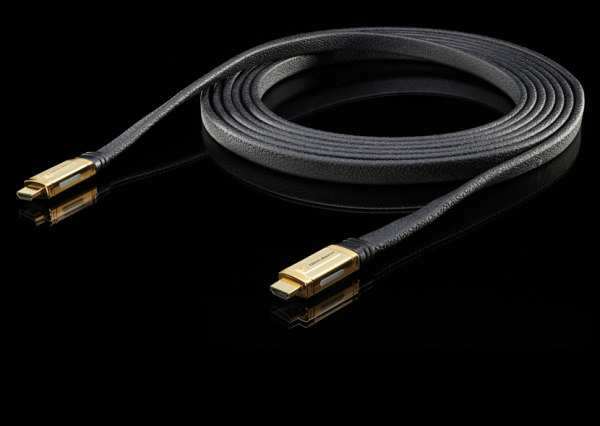 Oehlbach XXL Black Connect High-Speed-HDMI-Kabel mit Ethernet