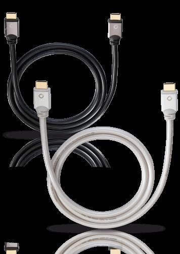 Oehlbach White Magic High-Speed-HDMI-Kabel mit Ethernet