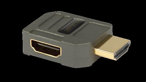 Goldkabel profi HDMI WINKELADAPTER Typ V