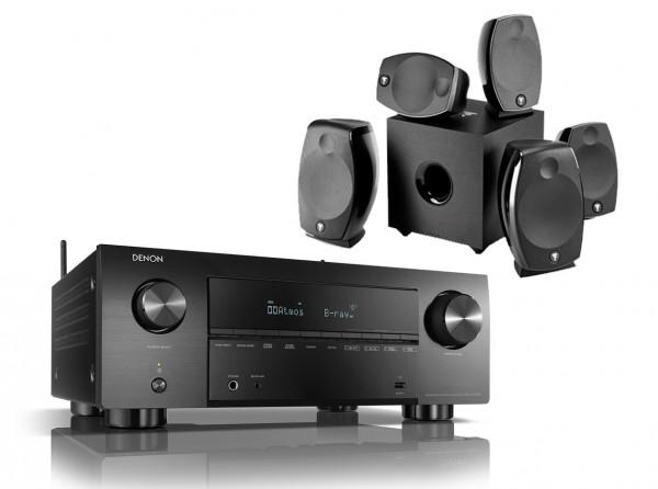 Denon AVC-X3700H Focal Sib Evo Dolby Atmos 5.1.2