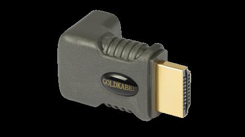 Goldkabel profi HDMI WINKELADAPTER 90 Grad