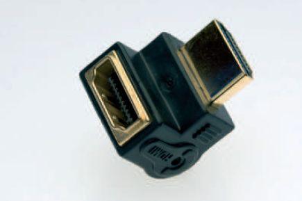 Silent Wire HDMI-90 Grad Adapter