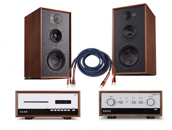Leak CDT + Stereo 130 + Wharfedale Linton 85