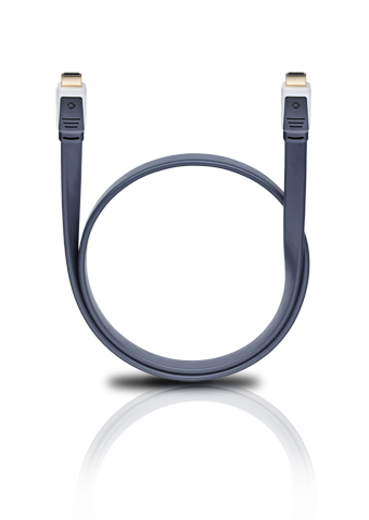 Oehlbach Flat Magic High-Speed-HDMI Flachkabel mit Ethernet