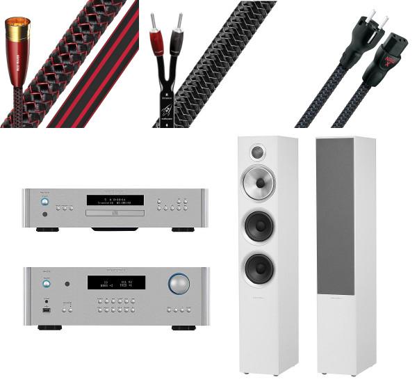 B&W 704 S2 RCD-1572 RA-1572 AudioQuest-Paket