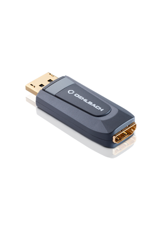 Oehlbach Transdata A1 Adapter DisplayPort auf HDMI