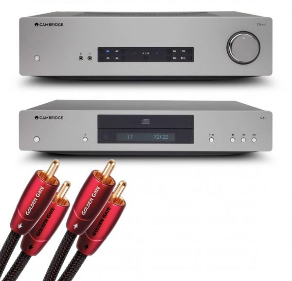 Cambridge Audio CXA61 + Cambridge Audio CXC V2