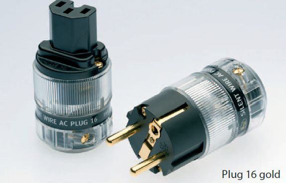 Silent Wire AC Plug 16