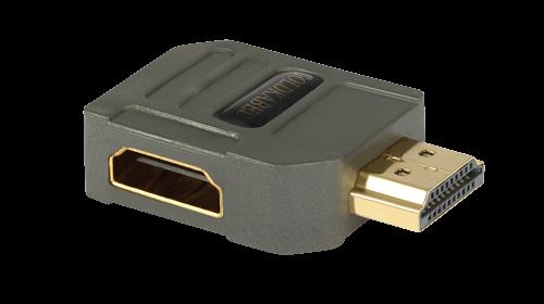 Goldkabel profi HDMI WINKELADAPTER Typ A