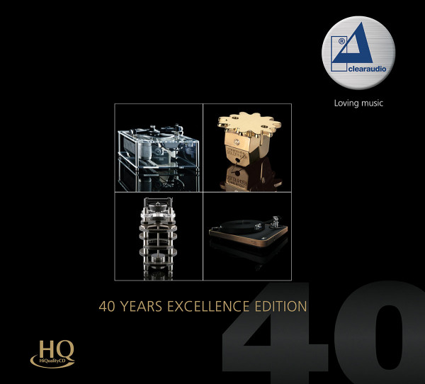 Clearaudio 40 Years Excellence Edition CD